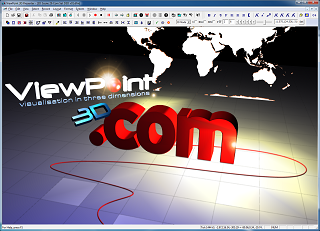 ViewPoint 3D animated scene with lighting effects