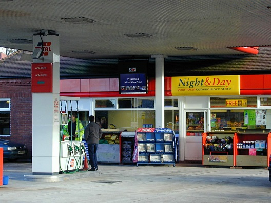 ViewPoint Digital TV at Total Service Stations