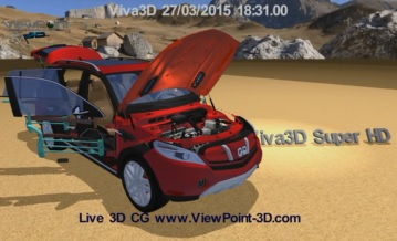 3D SUV reveal